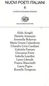 Foto Cover di Nuovi poeti italiani. Vol. 6, Libro di  edito da Einaudi