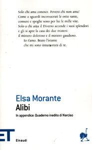 Libro Alibi Elsa Morante