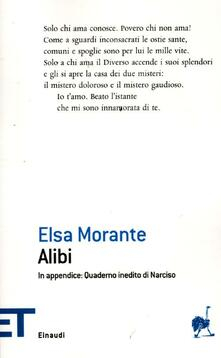 Alibi - Elsa Morante - copertina