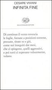 Libro Infinita fine Cesare Viviani