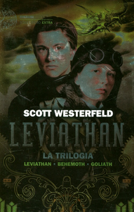 Libro Leviathan. La trilogia: Leviathan-Behemoth-Goliath Scott Westerfeld