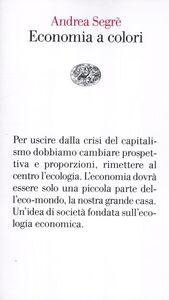 Libro Economia a colori Andrea Segrè