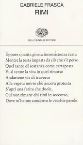 Rimi - Gabriele Frasca - copertina