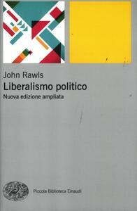 Liberalismo politico - John Rawls - copertina