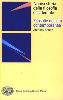 Listadelpopolo.it Nuova storia della filosofia occidentale. Vol. 4: Filosofie dell'età contemporanea. Image