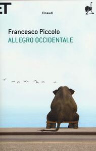 Allegro occidentale - Francesco Piccolo - copertina
