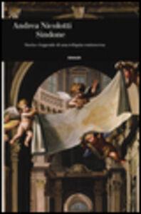 Foto Cover di Sindone. Storia e leggende di una reliquia controversa, Libro di Andrea Nicolotti, edito da Einaudi
