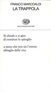 La trappola - Franco Marcoaldi - copertina