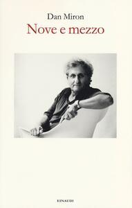 Nove e mezzo - Dan Miron - copertina