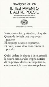 Il testamento e altre poesie