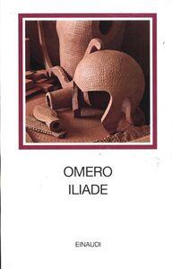Libro Iliade. Testo greco a fronte Omero
