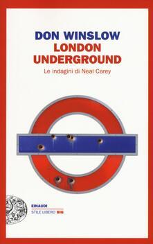 Camfeed.it London underground. Le indagini di Neal Carey Image