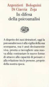 Libro In difesa della psicoanalisi