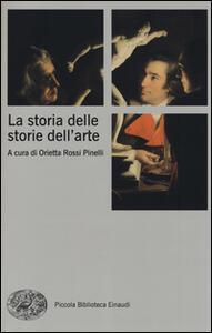 La storia delle storie dell'arte - copertina