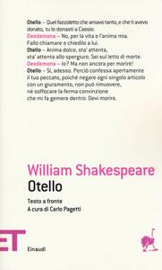 Otello. Testo inglese a fronte - William Shakespeare - copertina
