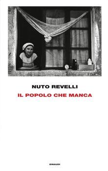 Il popolo che manca - Nuto Revelli - copertina