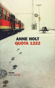 Quota 1222 - Anne Holt - copertina