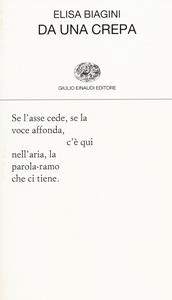 Libro Da una crepa Elisa Biagini