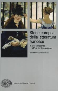 Storia europea della letteratura francese. Vol. 2: Dal Settecento alletà contemporanea..pdf
