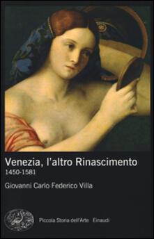 Librisulladiversita.it Venezia, l'altro Rinascimento. 1450-1581. Ediz. illustrata Image