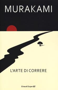 L' arte di correre - Haruki Murakami - copertina