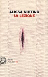 La lezione - Alissa Nutting - copertina