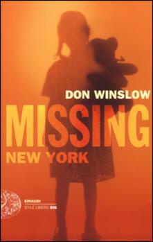 Listadelpopolo.it Missing. New York. Le indagini di Frank Decker Image