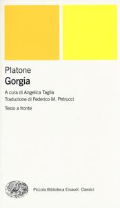 Libro Gorgia. Testo greco a fronte Platone
