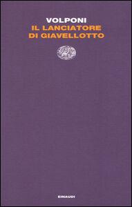Foto Cover di Il lanciatore di giavellotto, Libro di Paolo Volponi, edito da Einaudi