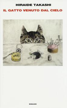 Il gatto venuto dal cielo - Takashi Hiraide - copertina