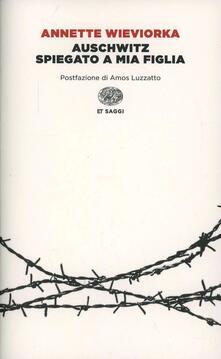 Criticalwinenotav.it Auschwitz spiegato a mia figlia Image