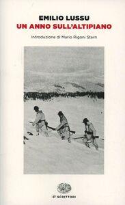 Foto Cover di Un anno sull'altipiano, Libro di Emilio Lussu, edito da Einaudi