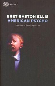 Libro American psycho Bret Easton Ellis