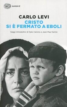 Cristo si è fermato a Eboli - Carlo Levi - copertina