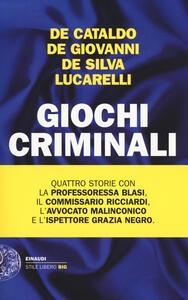 Giochi criminali - copertina