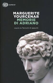 Premioquesti.it Memorie di Adriano. Seguite dai taccuini di appunti Image