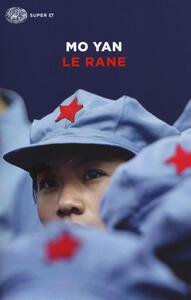 Libro Le rane Mo Yan