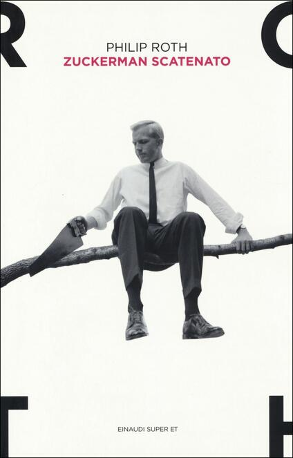 Zuckerman scatenato - Philip Roth - copertina