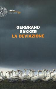 La deviazione - Gerbrand Bakker - copertina