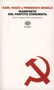 Libro Manifesto del Partito Comunista Karl Marx , Friedrich Engels