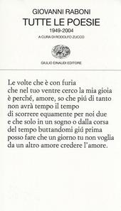 Tutte le poesie (1949-2004)