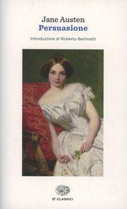 Foto Cover di Persuasione, Libro di Jane Austen, edito da Einaudi