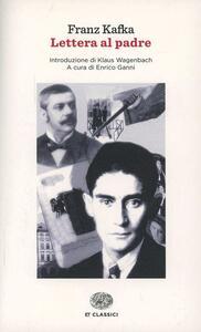 Lettera al padre - Franz Kafka - copertina