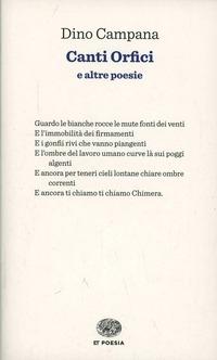 Canti orfici - Campana Dino - wuz.it