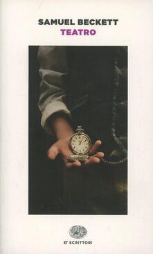 Teatro - Samuel Beckett - copertina