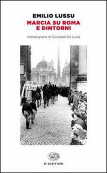 Marcia su Roma e dintorni - Emilio Lussu - copertina