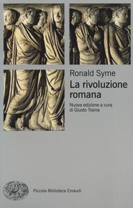 La rivoluzione romana - Ronald Syme - copertina