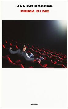 Prima di me - Julian Barnes - copertina