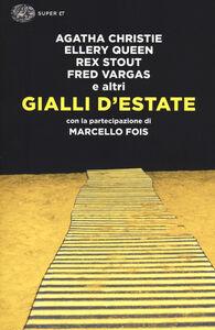 Foto Cover di Gialli d'estate, Libro di  edito da Einaudi