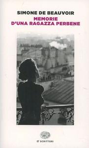 Libro Memorie di una ragazza perbene Simone de Beauvoir